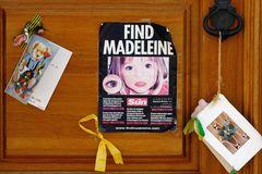 Madeleine McCann: Ein Suchposter zeigt das Mädchen