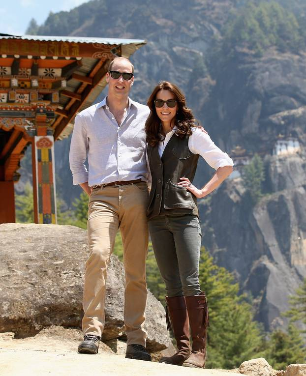 Kate Middleton und Prinz William zu Besuch in Bhutan