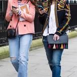 Bloggerinnen tragen Handtaschen