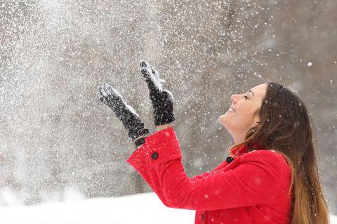 Der Winter naht: Das Wochenende wird verschneit und glatt!