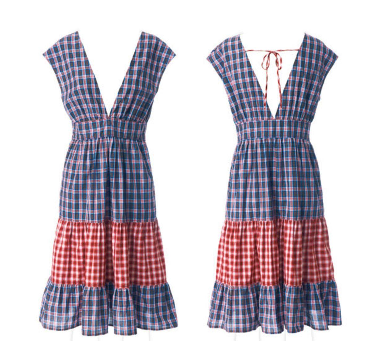 Schnittmuster Kleid: Volantkleid nähen