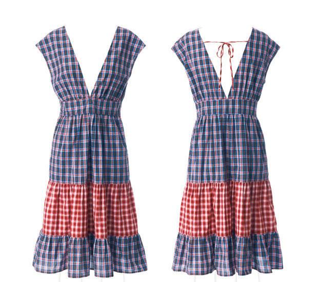 Schnittmuster kleid a form kostenlos