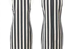 Schnittmuster Kleid: Streifenkleid nähen