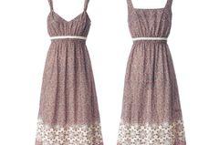 Schnittmuster Kleid: Trägerkleid nähen