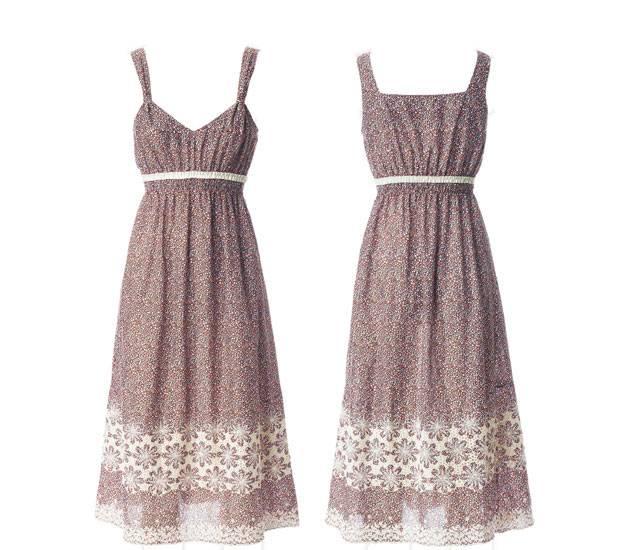 Sommerkleid baumwolle schnittmuster