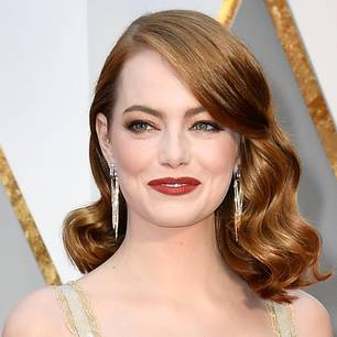 Emma Stone mit einem tollen Make-up-Look