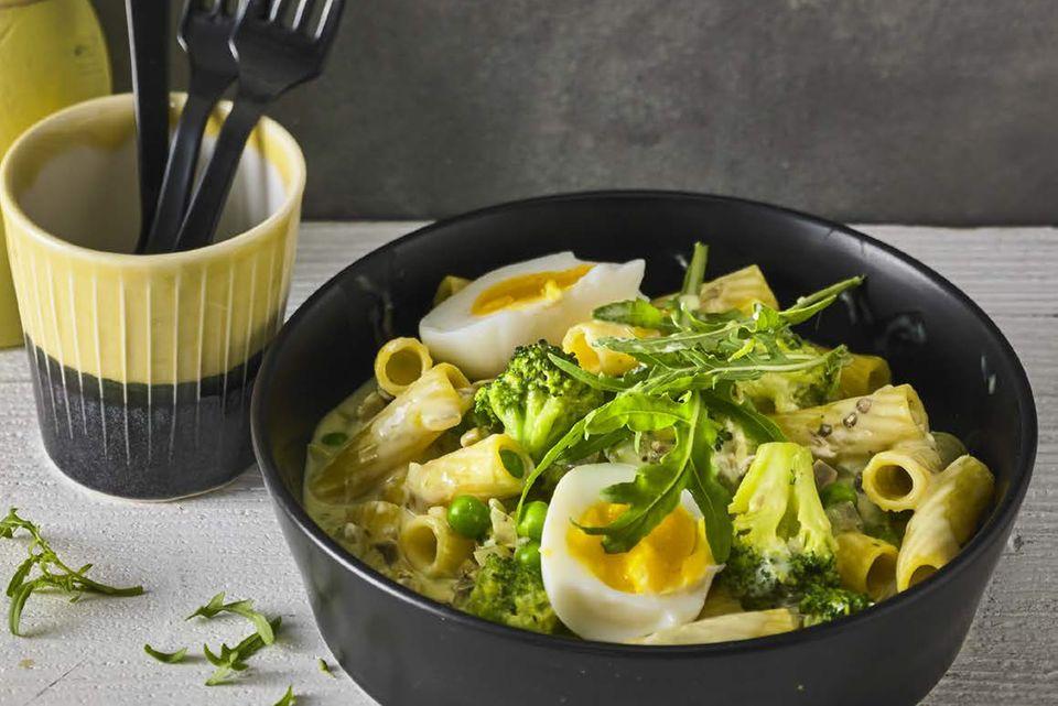 One-Pot-Pasta mit Brokkoli