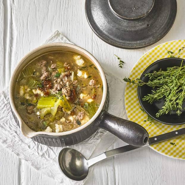 Porree-Käse-Suppe | BRIGITTE.de