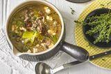Porree-Käse-Suppe
