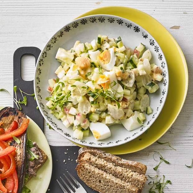 Toast mit Senf-Eier-Salat