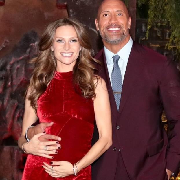 Außergewöhnlich The Rock: Dwayne Johnson wird wieder Vater | BRIGITTE.de &WR_13