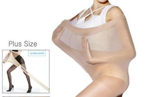 Plus Size Strumpfhose zum Verkauf auf Onlineplattform