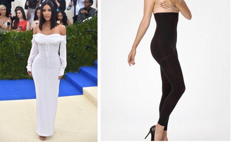 Perfekter Body: Kim Kardashian trägt diese Strumpfhose unter jedem Outfit!