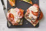 Pizzabrote mit Prosciutto