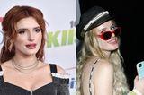 Die ehemalige Disney-Schauspielerin Bella Thorne überraschte in diesem Jahr mit vielen, für sie eher ungewöhnlichen, Looks. Einer davon war ihr erster Auftritt mit neuer Haarfarbe - aus Rot wurde Aschblond.