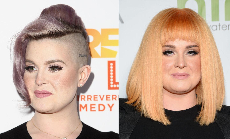 Alles neu machte das Jahr 2017! Auch bei Sängerin Kelly Osbourne. Die wechselte dieses Jahr von lilafarbenem Undercut, auf orangen Bob und Pony. Was für ein Umstyling!