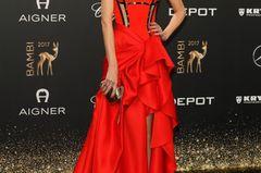 Roter Teppich 2017: Ckaudia Schiffer bei der Bambi-Verleihung