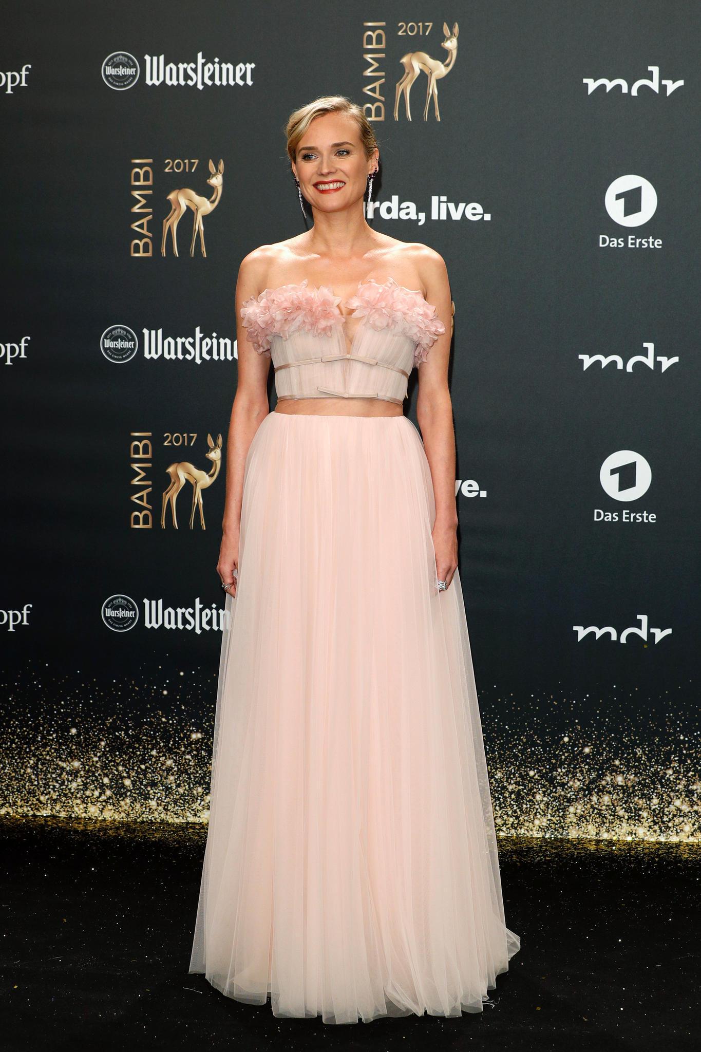 Roter Teppich 2017: Diane Kruger bei der Bambi-Verleihung