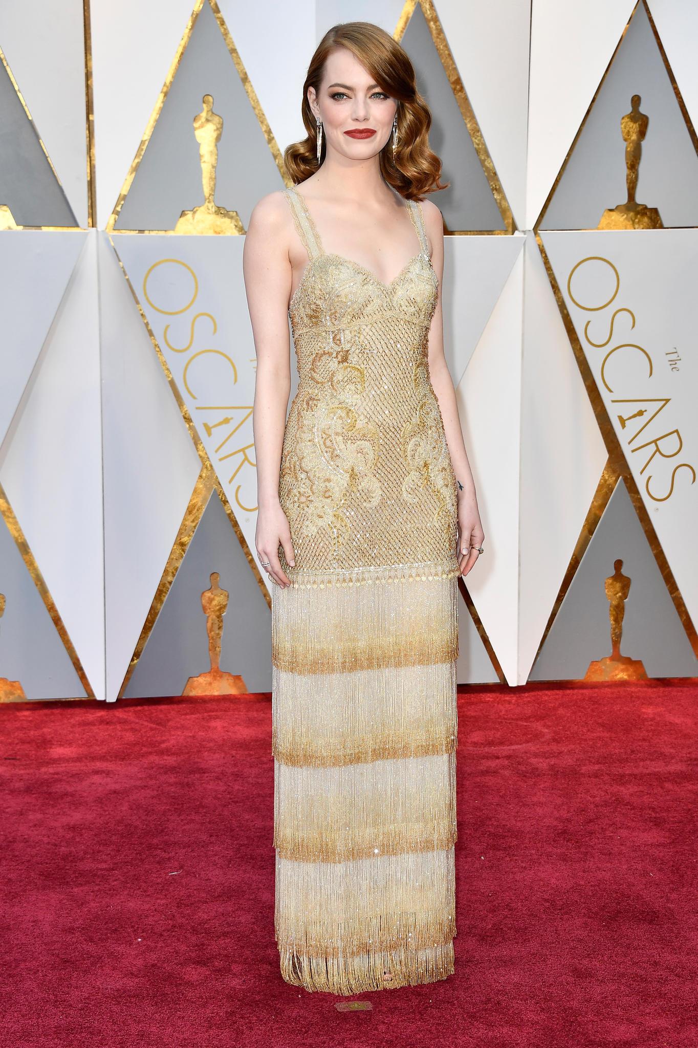 Roter Teppich 2017: Emma Stone bei den Oscars