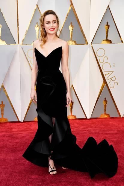 Roter Teppich 2017: Brie Larson bei den Oscars