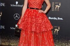 Roter Teppich: Franziska Knuppe bei der Bambi Verleihung 2017