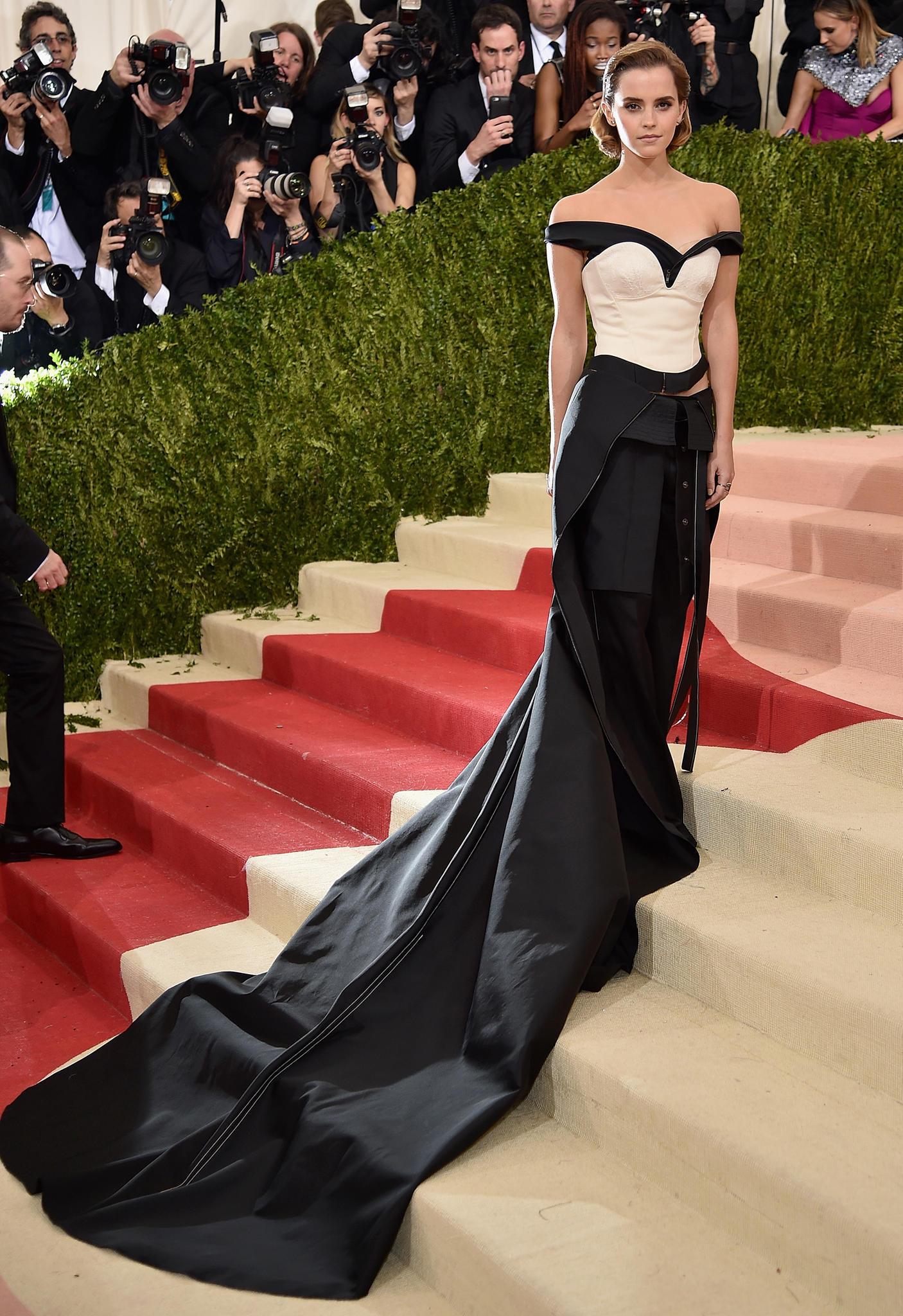Roter Teppich 2017: Emma Watson beid er Met Gala