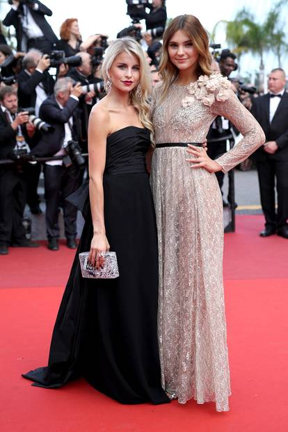 Roter Teppich 2017: Stefanie Giesinger in Cannes