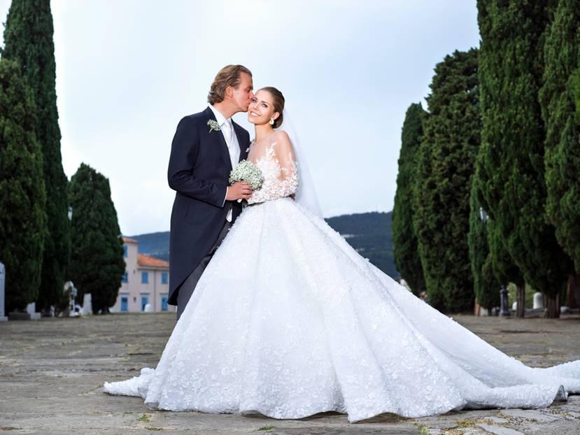 Brautkleider der Stars: So schön heirateten die Promis! | BRIGITTE.de