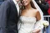 Brautkleider der Stars: Sylvie Meis und Rafael van der Vaart