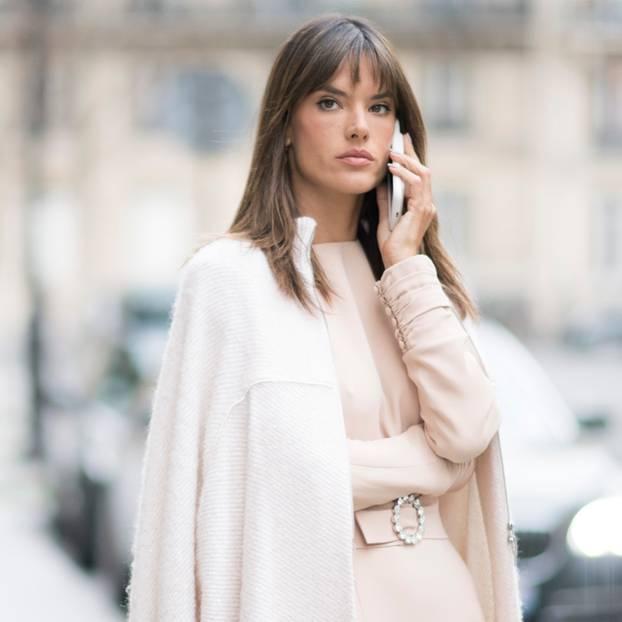 Alessandra Ambrosio Glatte Haare Gesicht Jennifer Lopez Frisur Sind