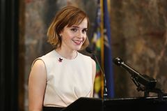 Emma Watson  im Portrait