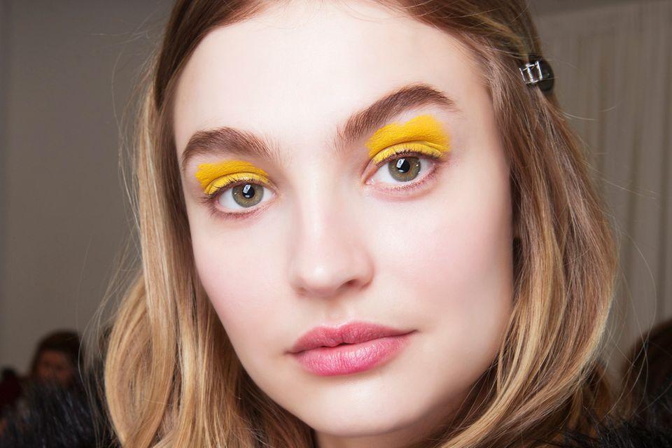 Make-up-Trends 2018: Knallfarben