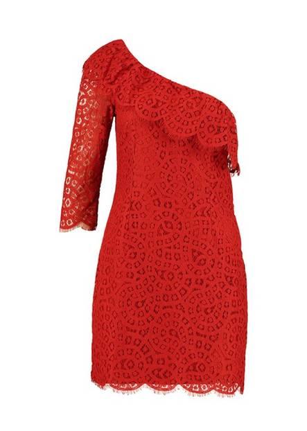Silvester-Outfit: Spitzenkleid von mint&berry zum Nachshoppen
