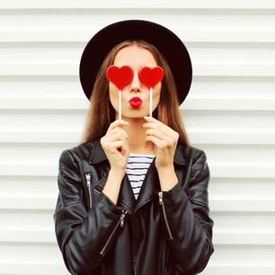 Tricks, wie Lippen voller wirken