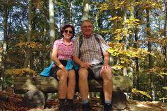 Lieben sich und das Wandern: Rosi und Christian