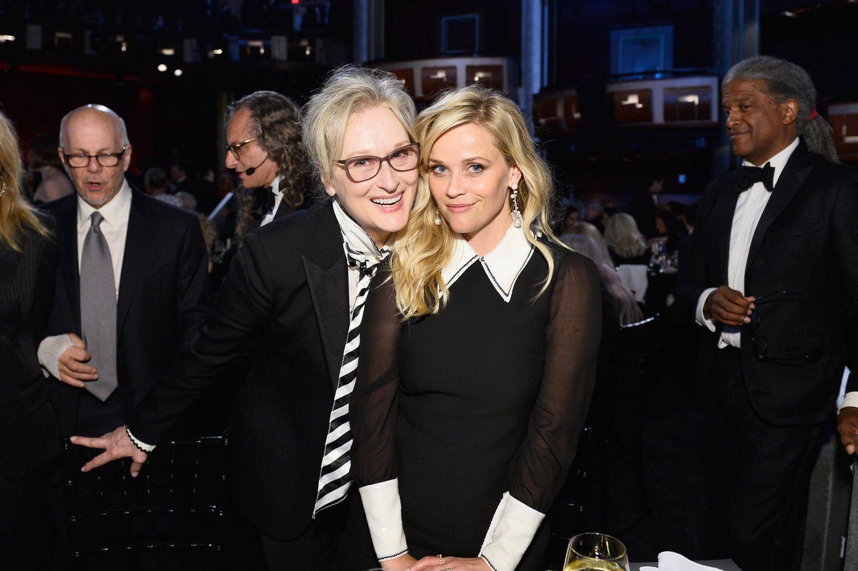 Meryl Streep und Reese Witherspoon sind zwei der Stars, die sich gegen sexuelle Belästigung einsetzen