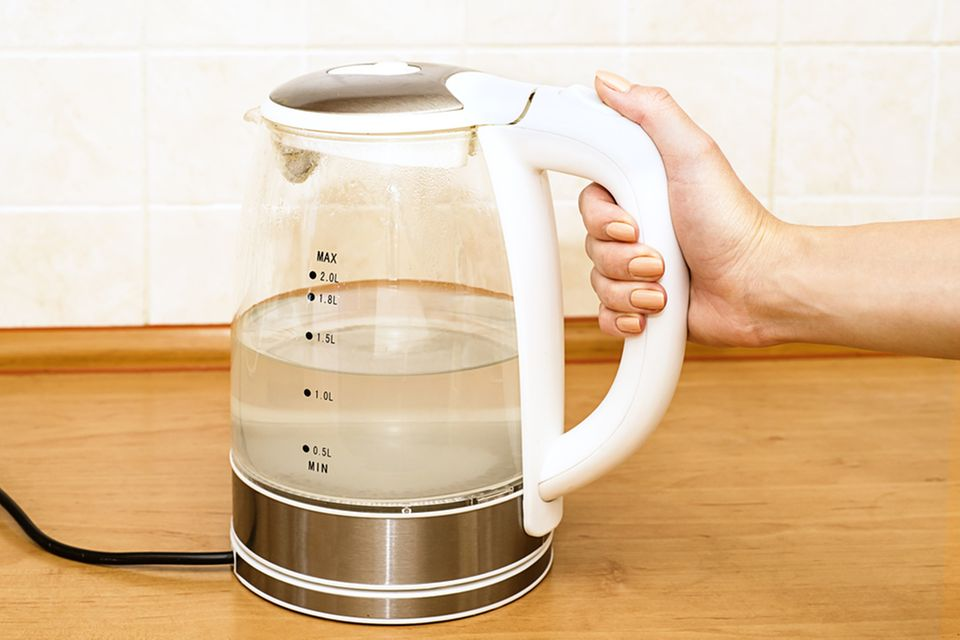 Wasserkocher entkalken - so einfach geht's