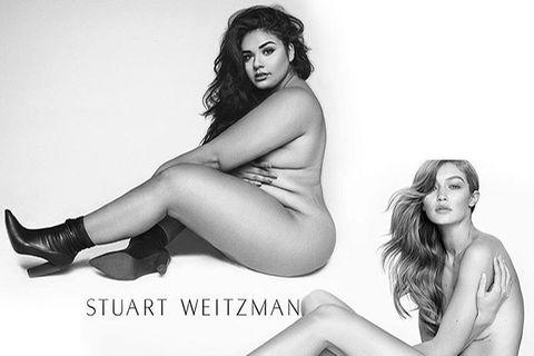 Dianasirokai stellt Posen von Gigi Hadid nach