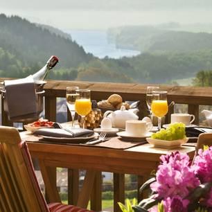 Frühstück und Wellness