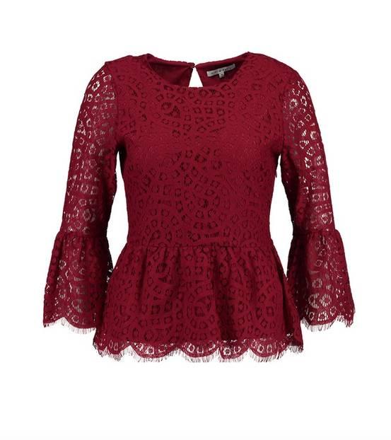Valentinstag Outfit: Bluse von mint&berry