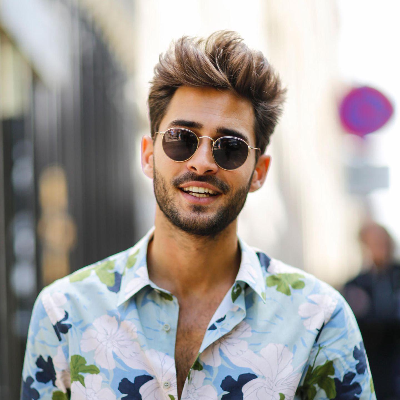 Männerfrisuren: Haare hochstylen
