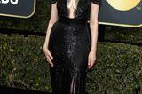 Golden Globes 2018: Geena Davis auf dem Roten Teppich