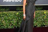 Golden Globes 2018: Naomi Campbell auf dem Roten Teppich