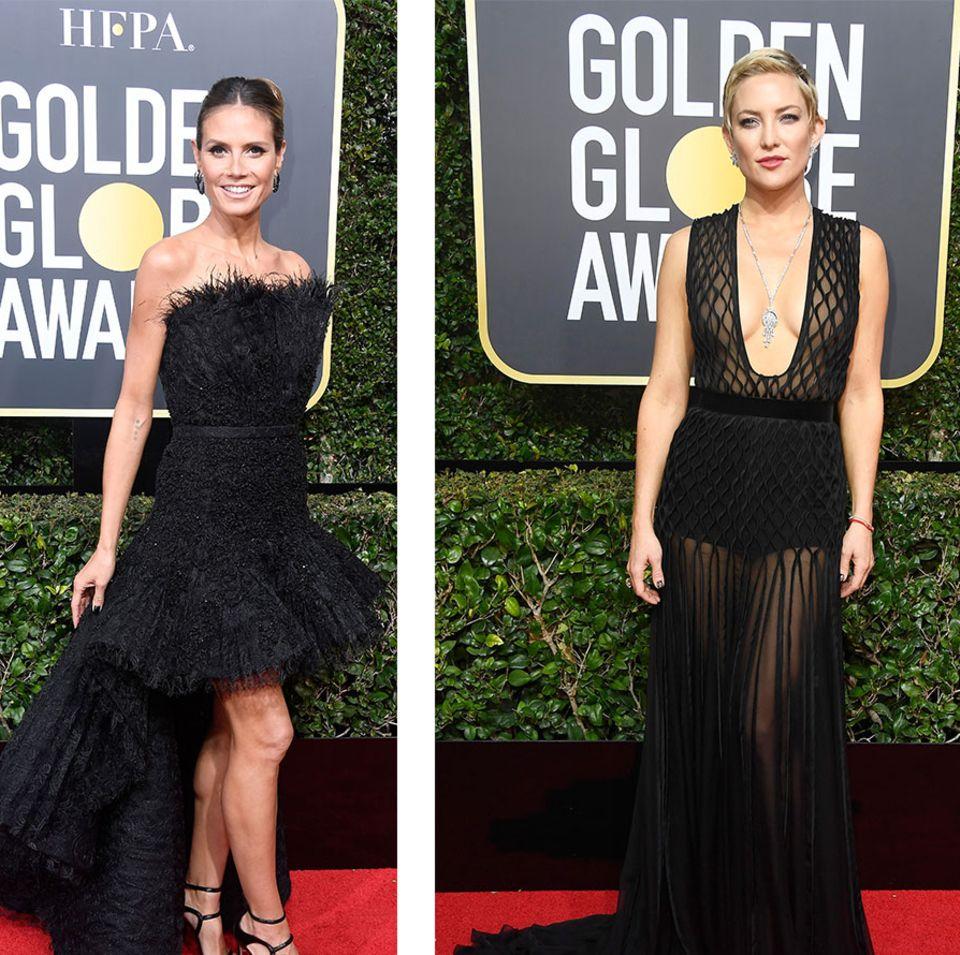 Golden Globes: Stars auf dem Roten Teppich
