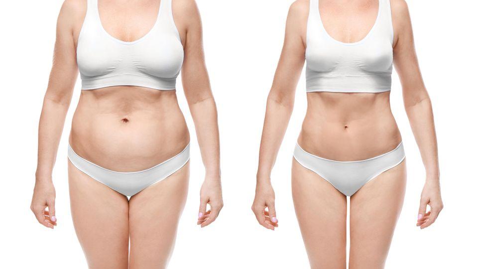 So hilft deine Bauchform beim Abnehmen