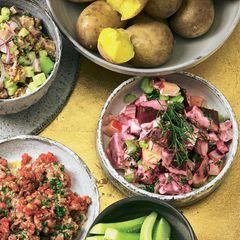 Rote-Bete-Salat mit Staudensellerie