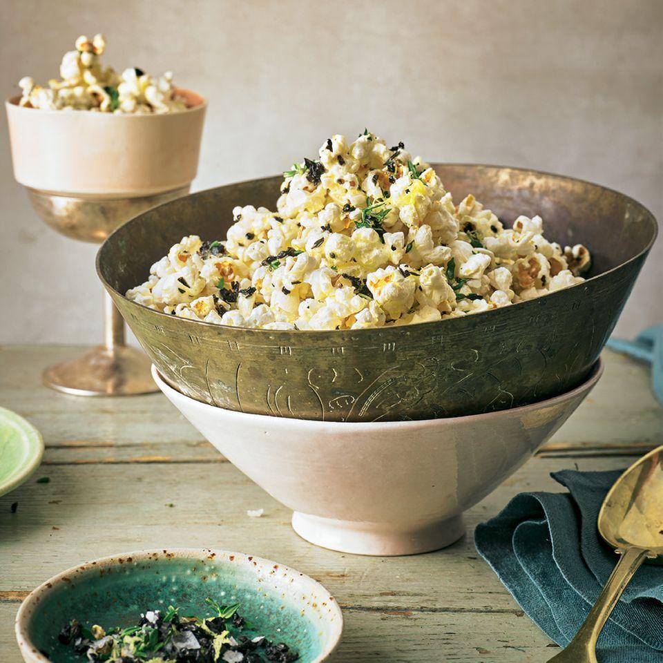 Oliven-Thymian-Popcorn