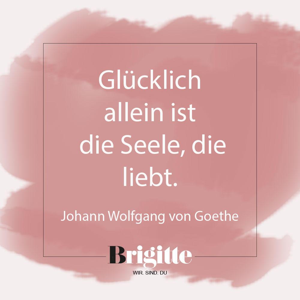 Valentinstag-Sprüche: Zitat von Goethe