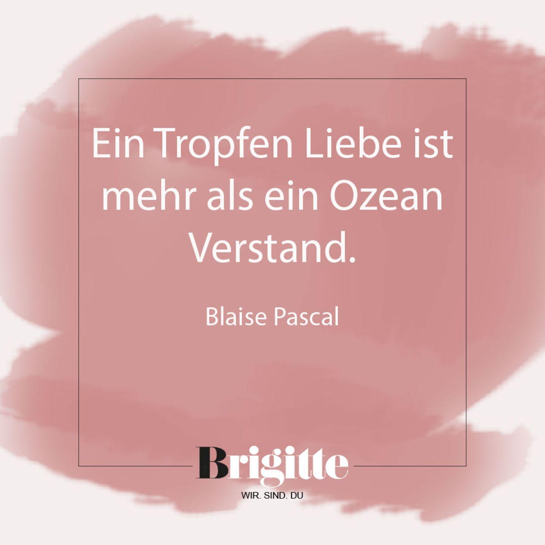 Valentinstag-Sprüche: Zitat von Pascal