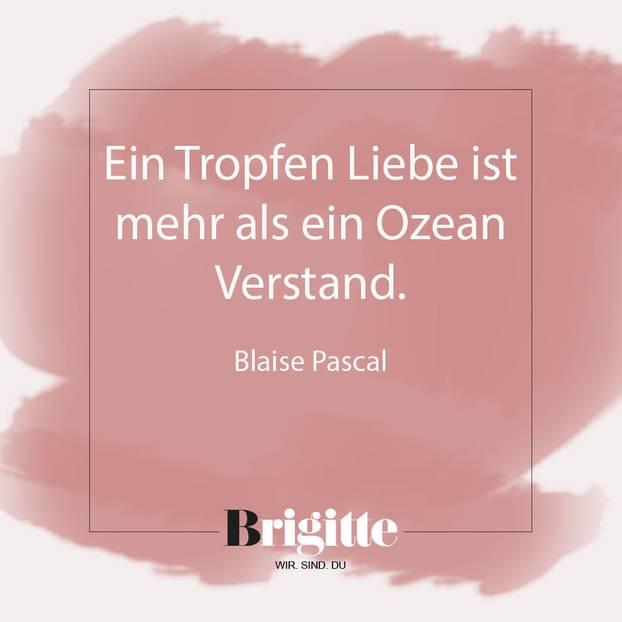 Valentinstag Sprüche: Zitat Von Pascal ...